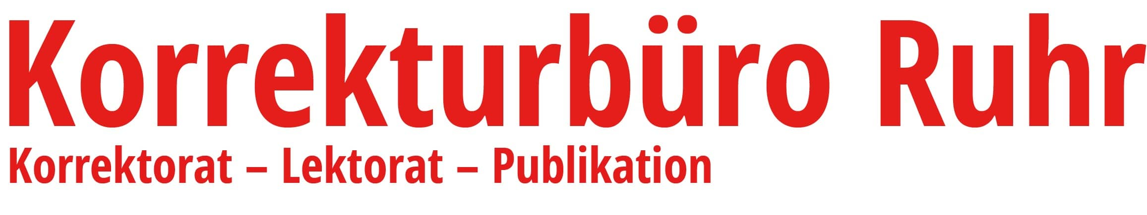 Korrekturbüro Ruhr – Lektorat